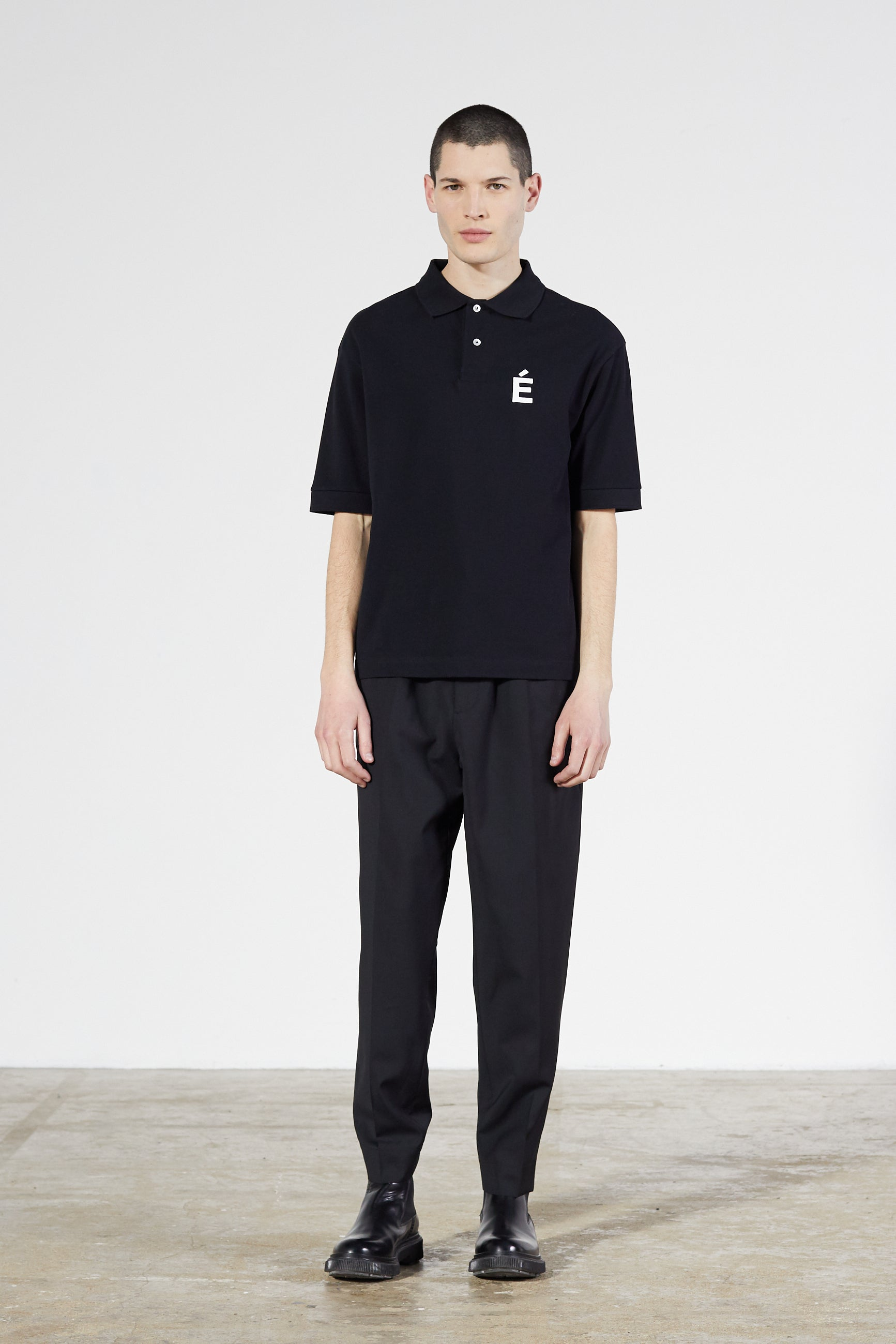 Études Polo Patch Black Jacket 1