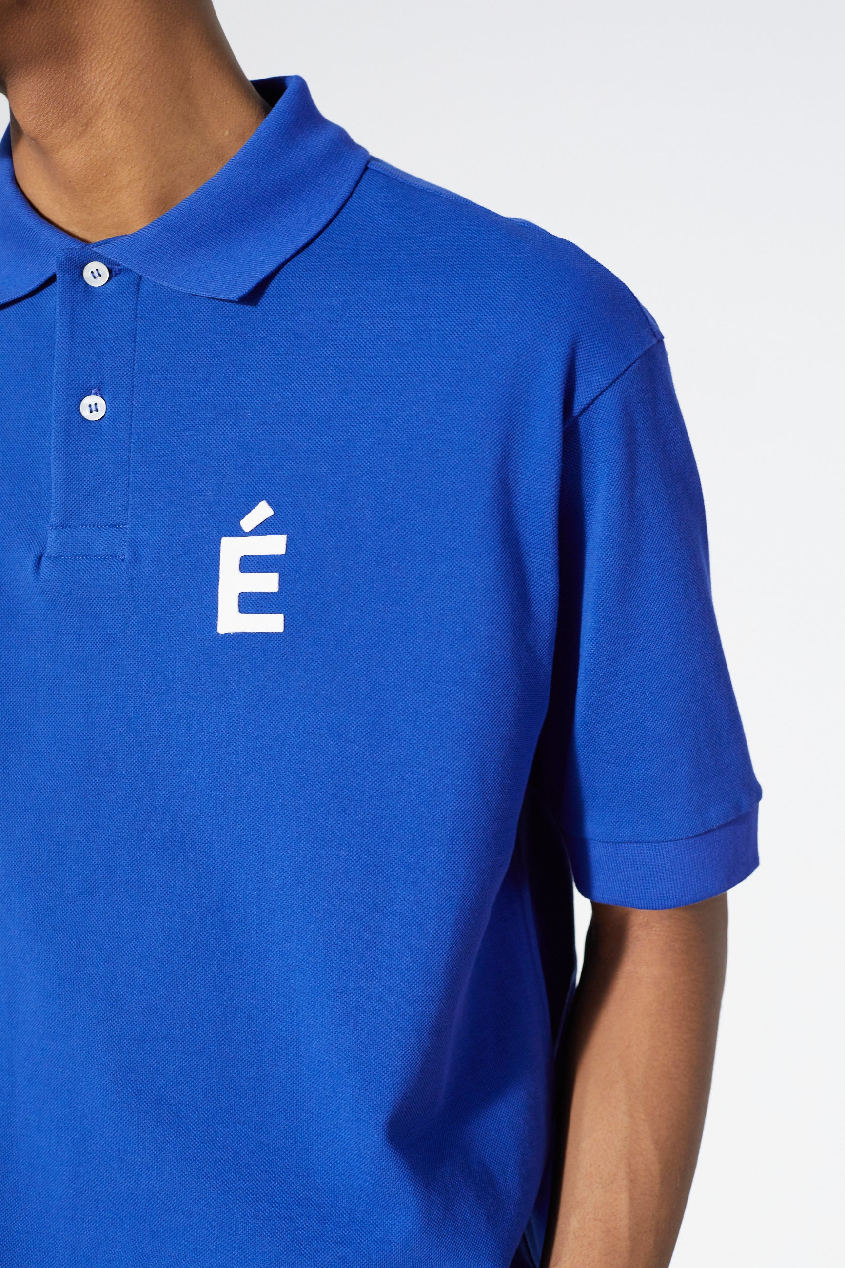 Études Polo Patch Blue T-shirt 4