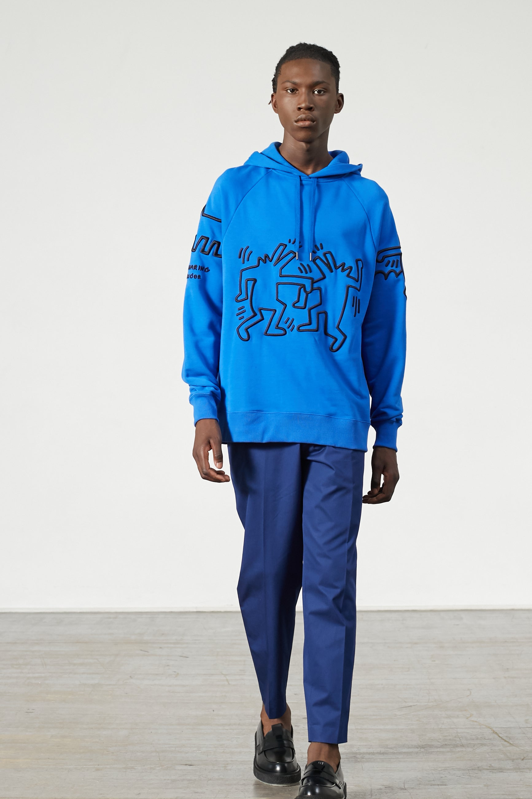 RACING KEITH HARING BLUE