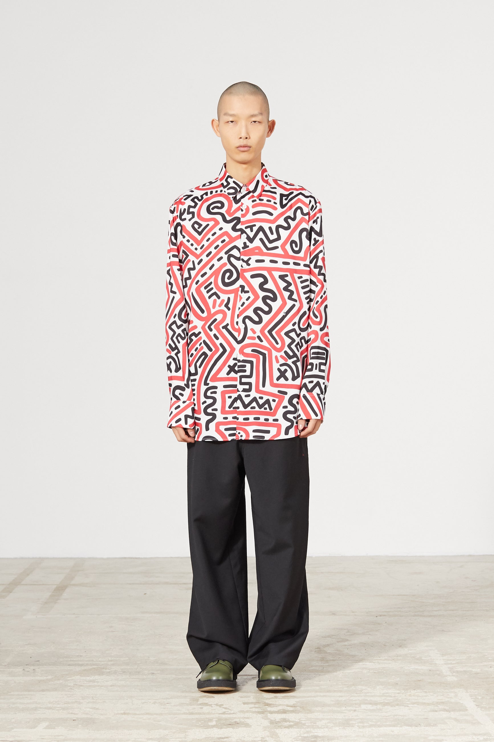 REFLET ALL OVER KEITH HARING SHIRT