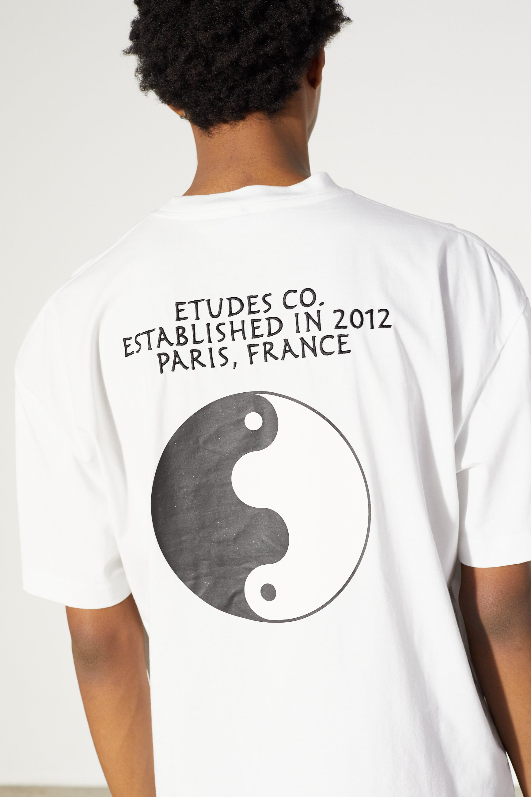 Études Spirit Circle White T-shirt 5
