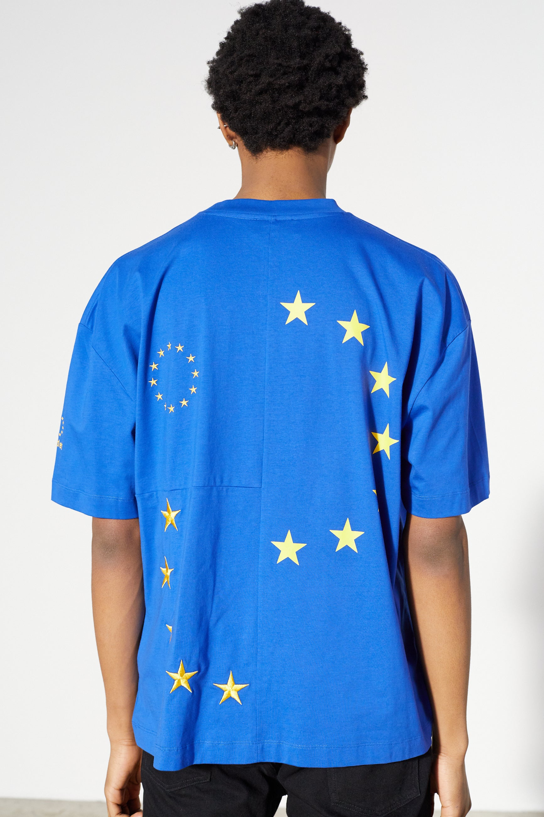 Études Spirit Cut-Up Europa Blue T-shirt 6