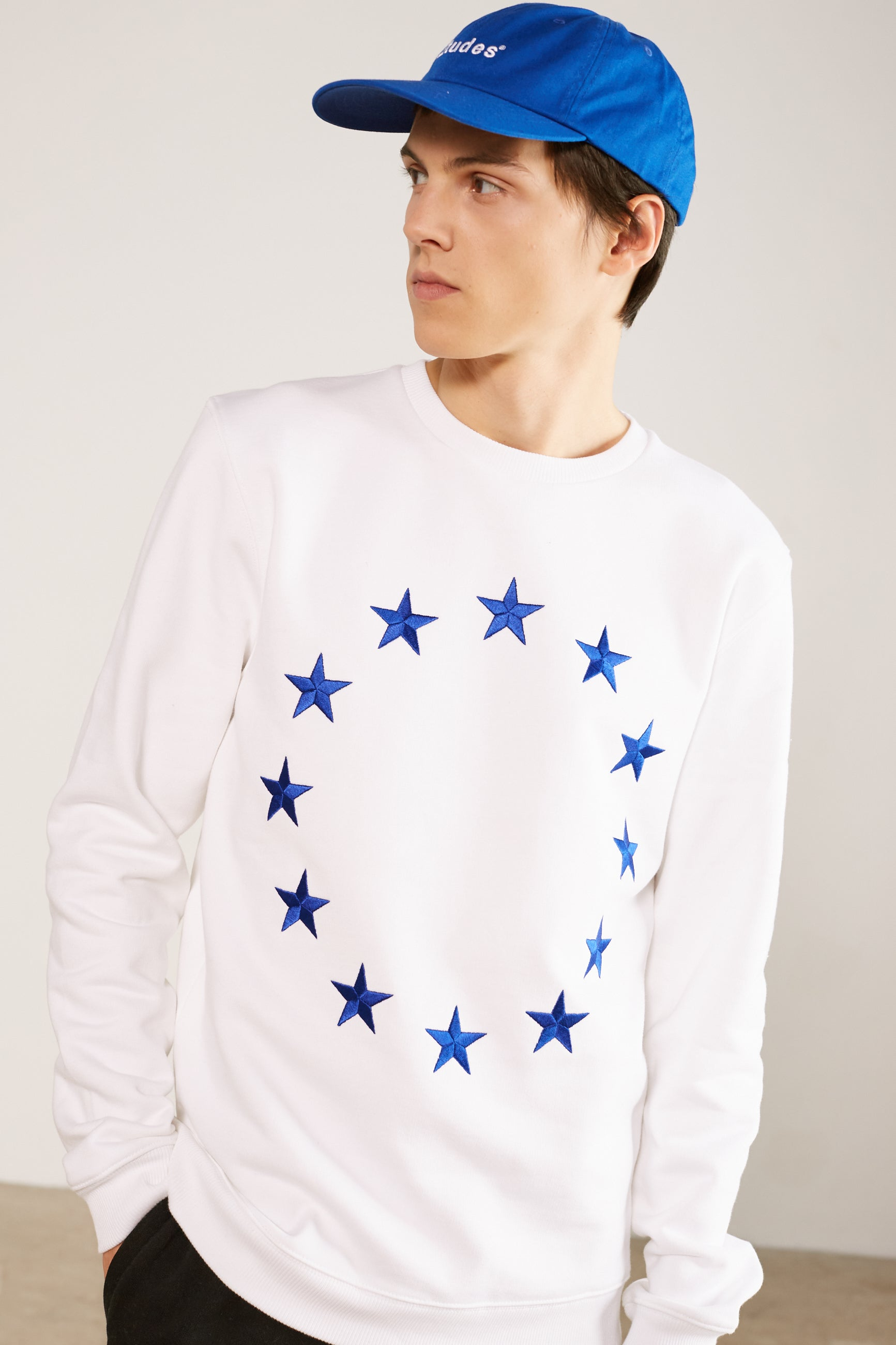 STORY SWEATER EUROPA WHITE