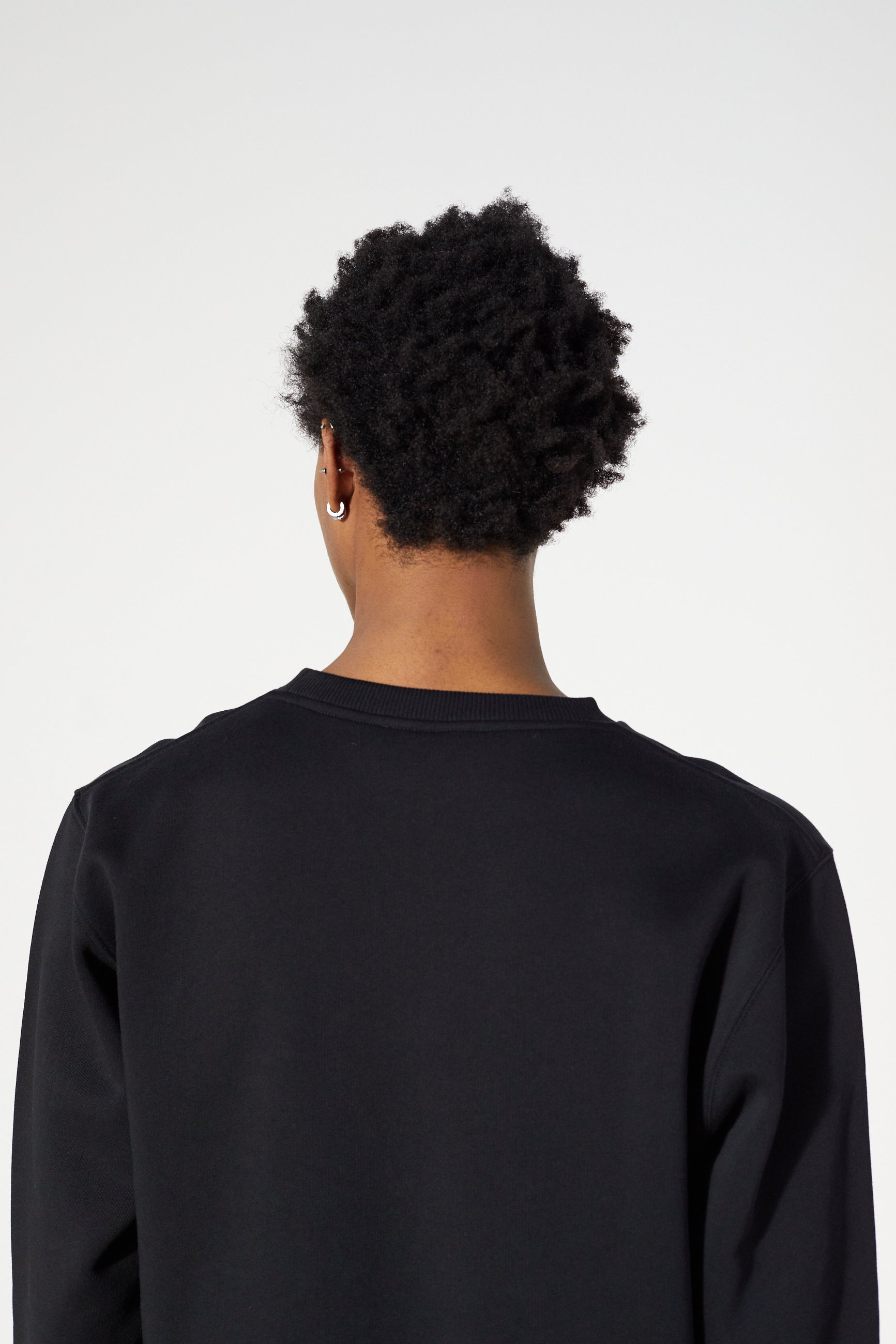 Études Story Patch Black Sweatshirt 5