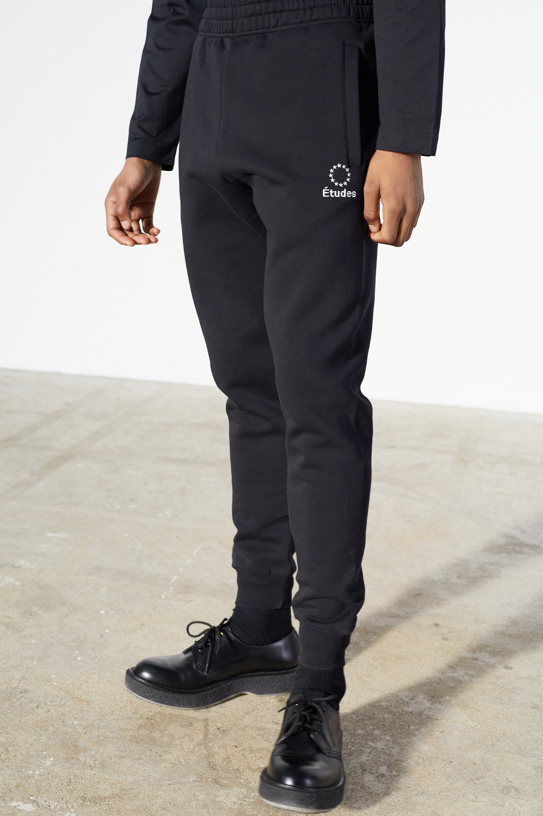 Études Tempera Logo Black Trousers 4