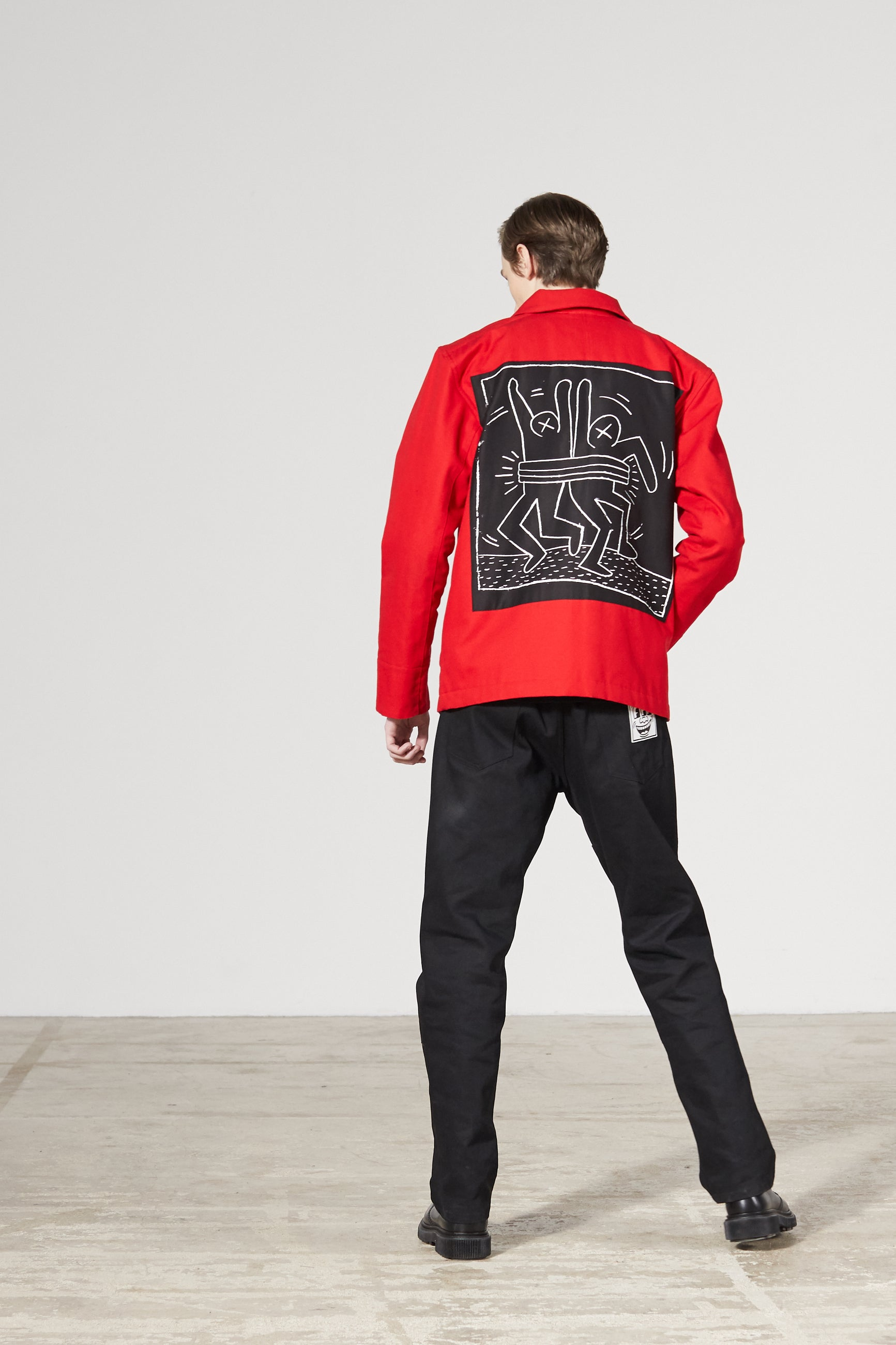 TIMELINE CANVAS KEITH H. X MTA JACKET
