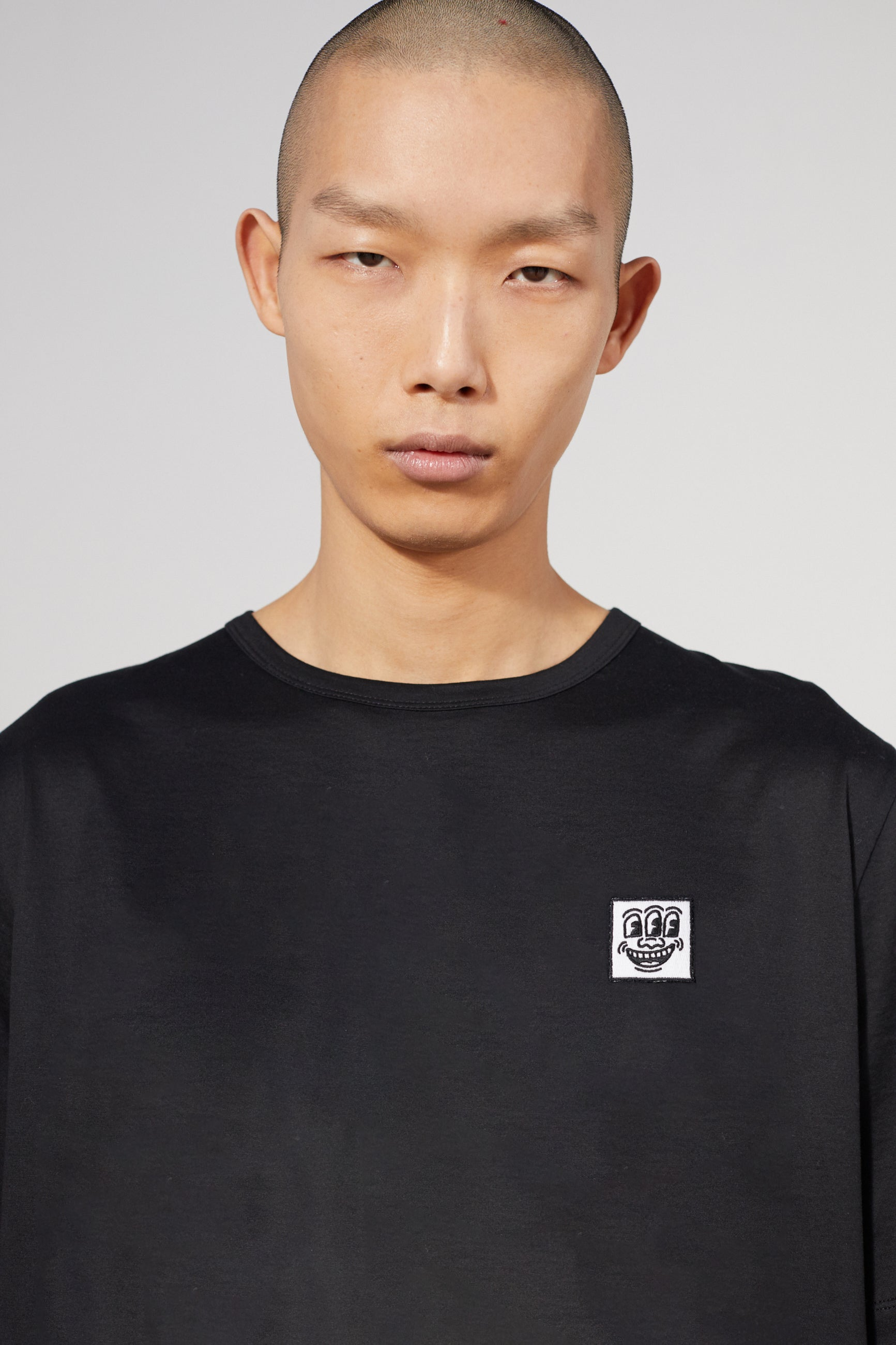 UNITY PATCH KEITH HARING BLACK T-SHIRT