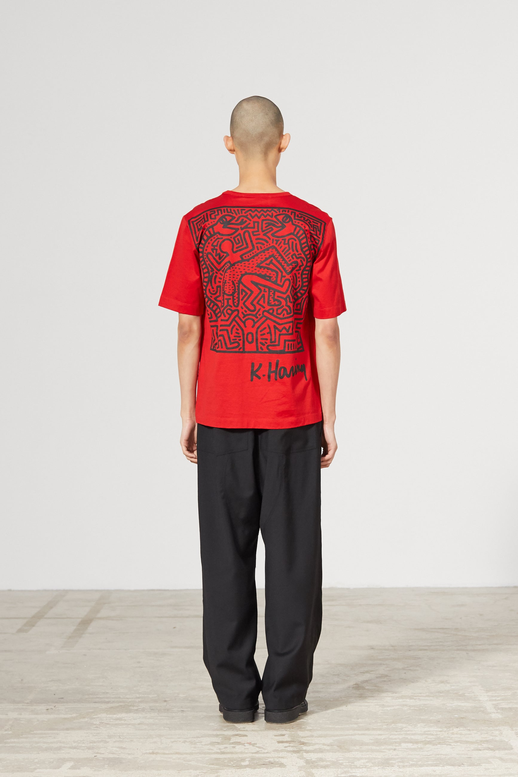 UNITY PATCH KEITH HARING RED T-SHIRT