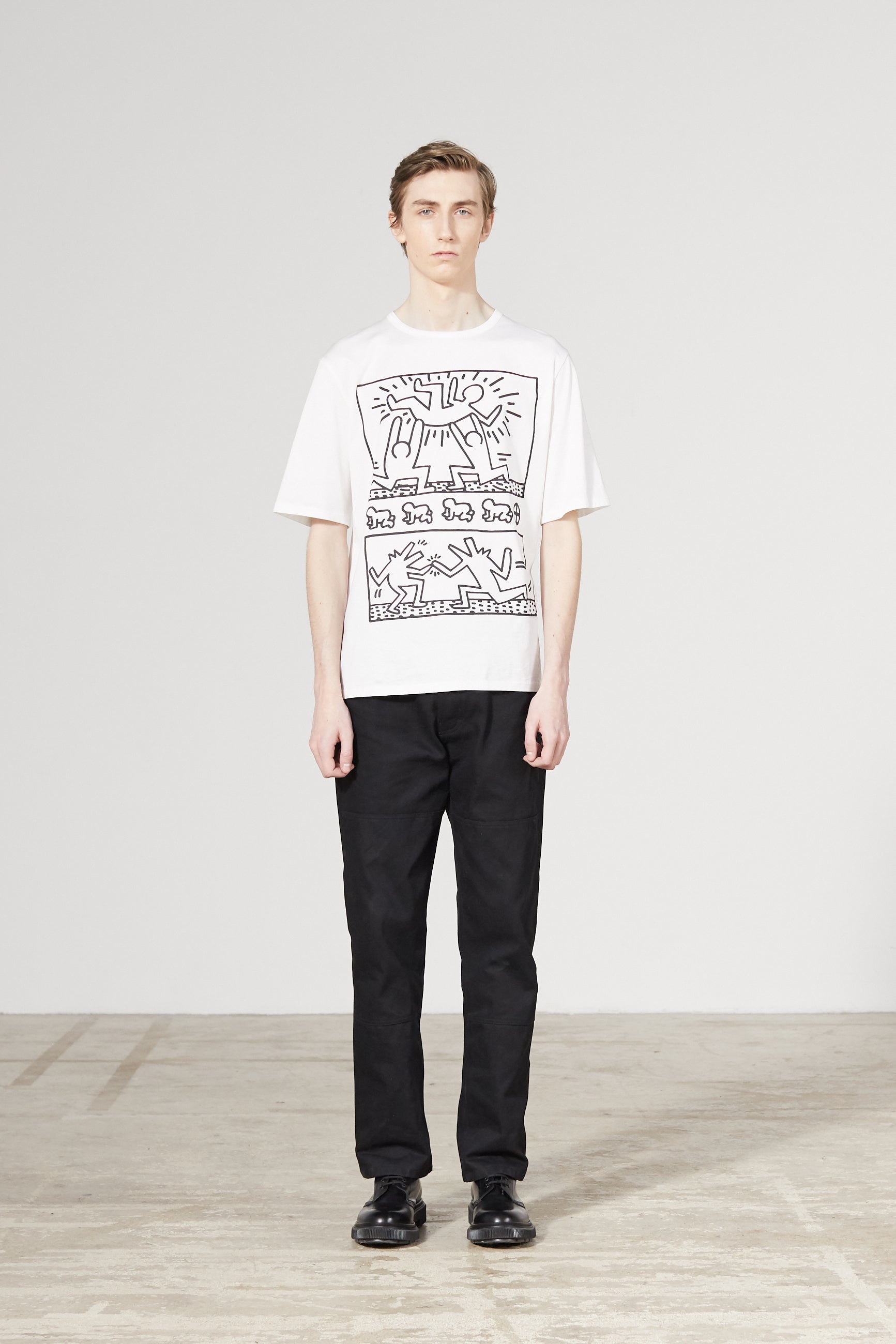 UNITY KEITH HARING WHITE T-SHIRT