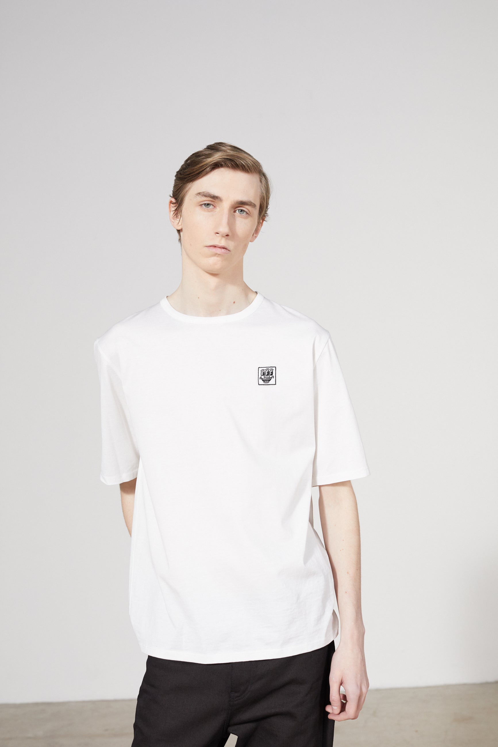 UNITY PATCH KEITH HARING WHITE T-SHIRT