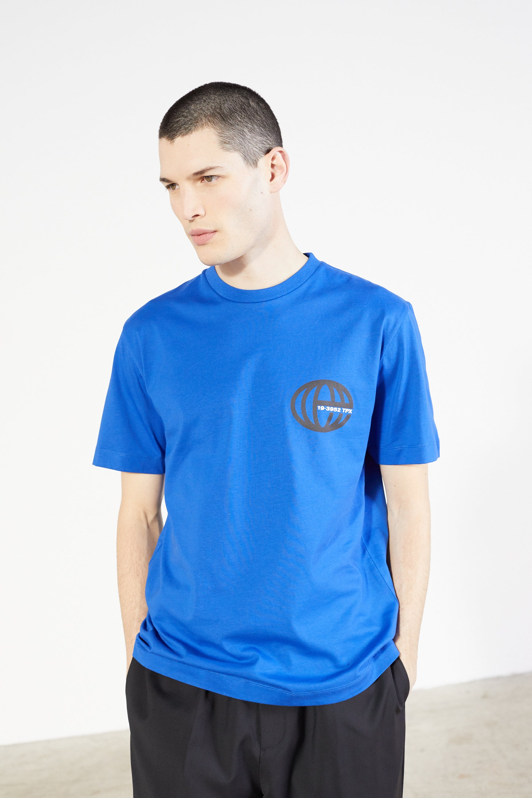 Études Wonder Atlas Blue T-shirt 3