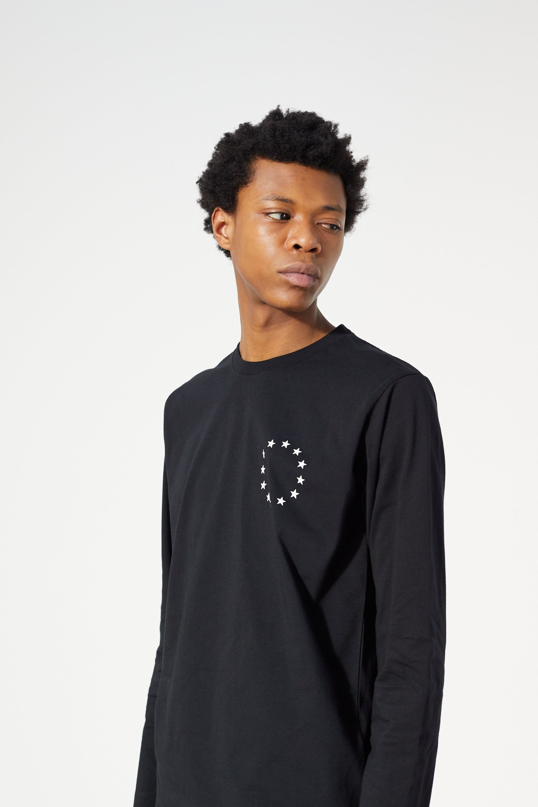 Études Wonder LS Europa Black T-shirt 3