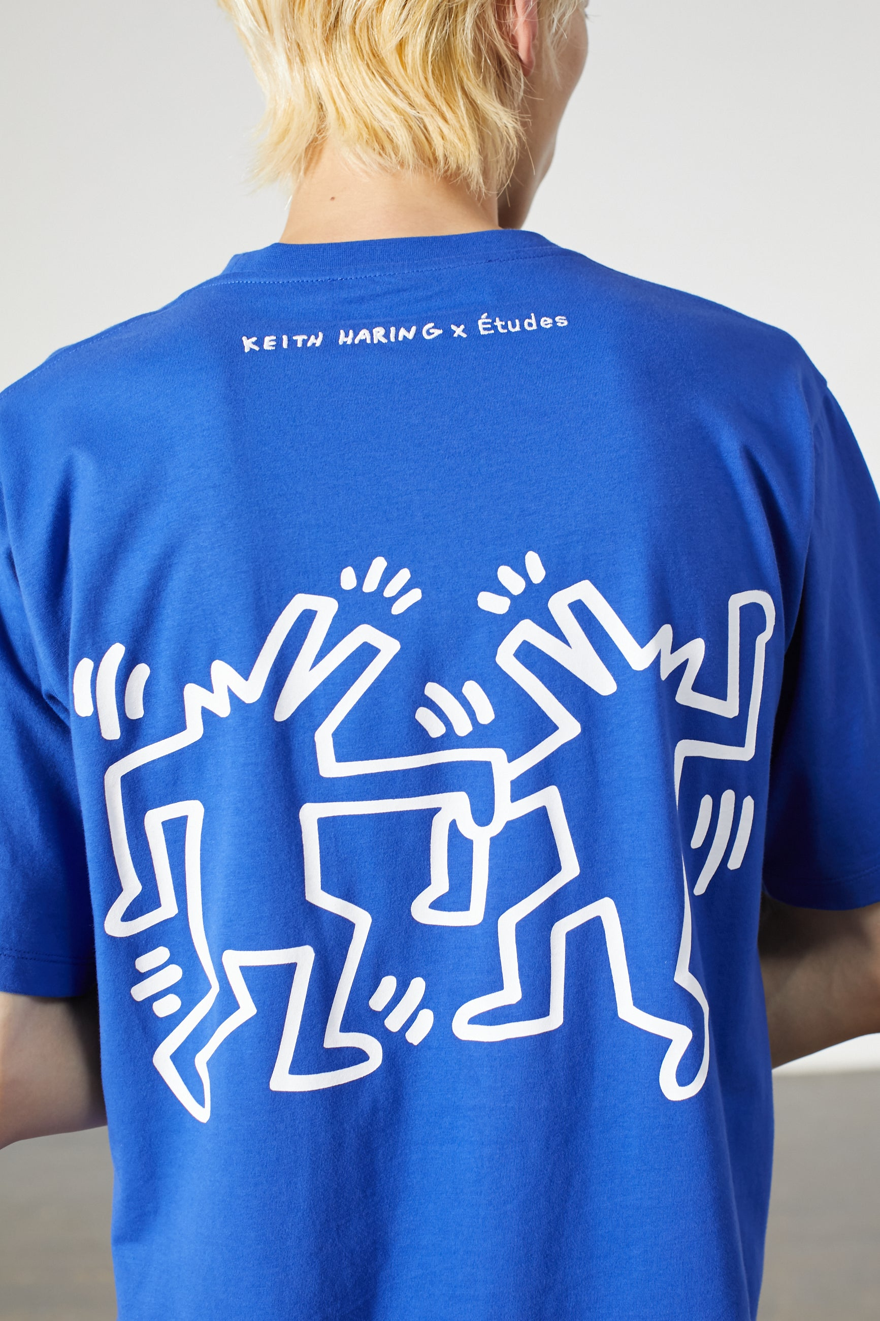 WONDER PATCH KEITH HARING BLUE
