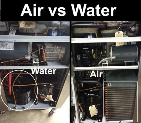 water cooled vs air cooled machine