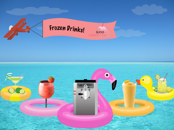 Frozen Drink Frozen Beverage Machine Image Slices Concession
