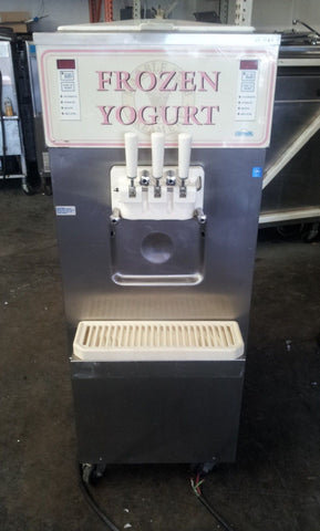 2000 CARPIGIANI UF313 SERIAL N317004 3PH WATER SOFT SERVE ICE CREAM FROZEN YOGURT MACHINE