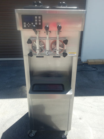 2011 STOELTING F231 SERIAL 3849611H 1PH WATER SOFT SERVE ICE CREAM FROZEN YOGURT MACHINE