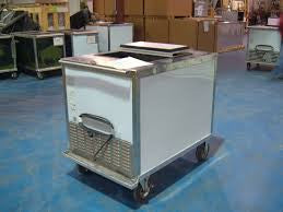 Nelson BDC8 Cold Plate Ice Cream Cart for Prepackaged Items