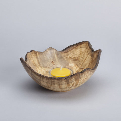Box Elder Burl Wood Bowl
