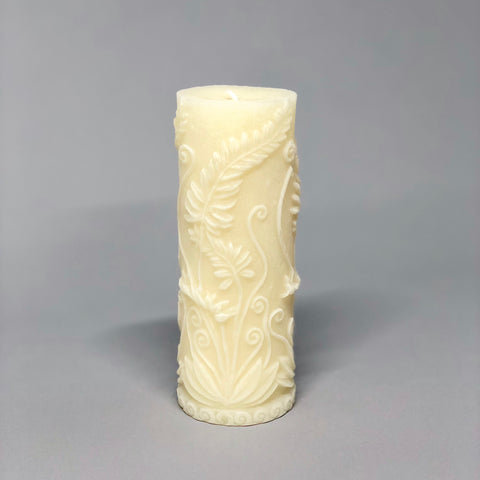Fern Pillar Candle