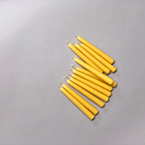 Beeswax Mini Taper Candles