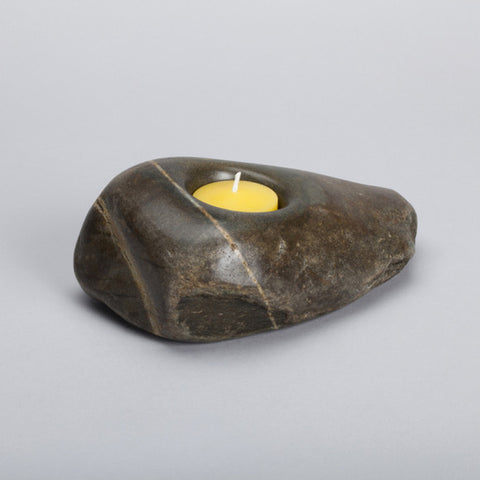 Stone Candle Holder ps09