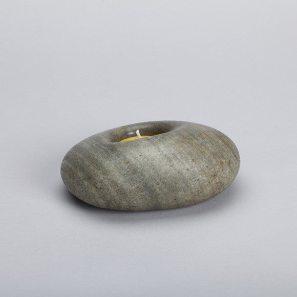Stone Candle Holder ps05