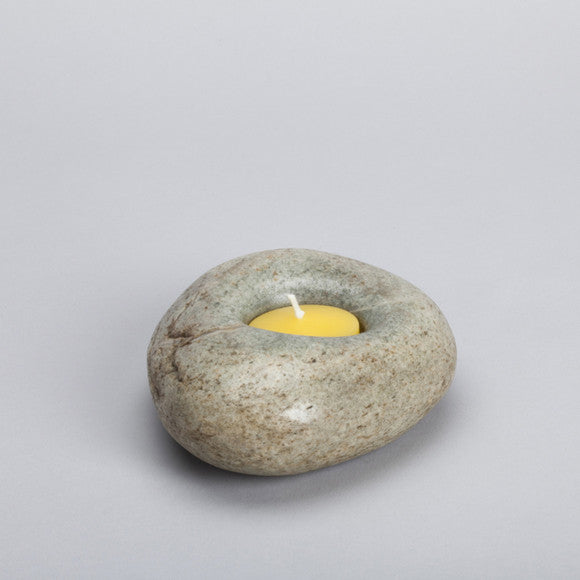Stone Candle Holder ps08