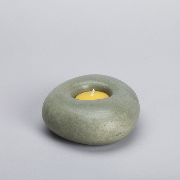 Stone Candle Holder ps12