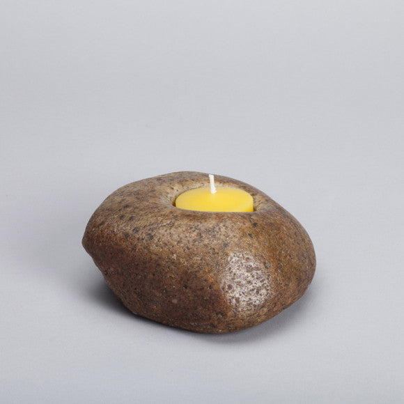 Stone Candle Holder ps17