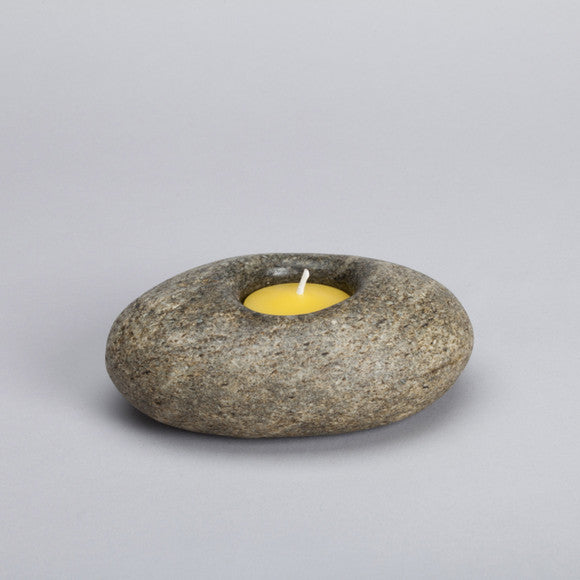 Stone Candle Holder ps18