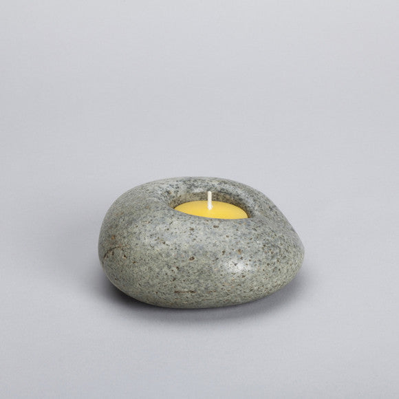 Stone Candle Holder ps23