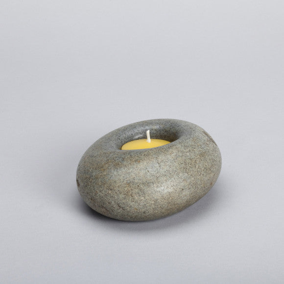 Stone Candle Holder ps24