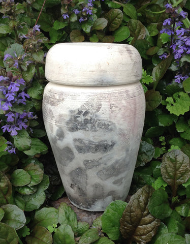 Pet urn for ashes