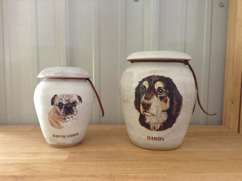 Custom Dog Urns