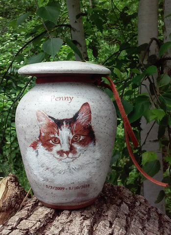 Handcrafted Pet Urn