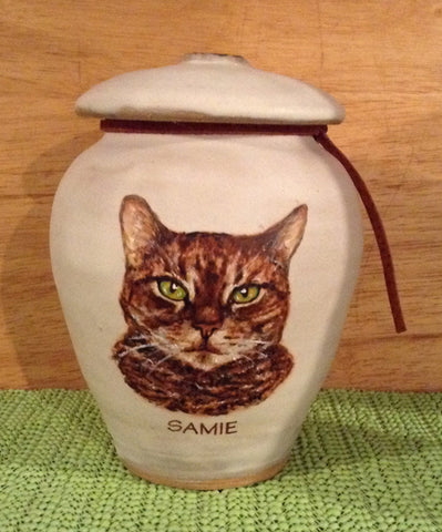 Samie - Custom Cat Image Urn