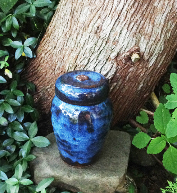 Blue Heaven Medium Sized Dog Urn