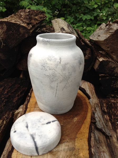 Wood Fired Unique Spirit Urn for Large Dog