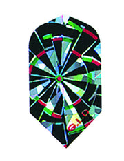 DART FLIGHTS 2D GLITTER