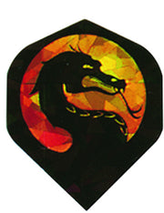 DART FLIGHTS DRAGON GLITTER