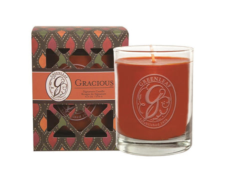 EAGLE RIDGE GREENLEAF GRACIOUS SIGNATURE CANDLE