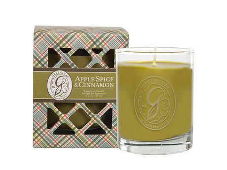 EAGLE RIDGE GREENLEAF APPLE SPICE & CINNAMON SIGNATURE CANDLE