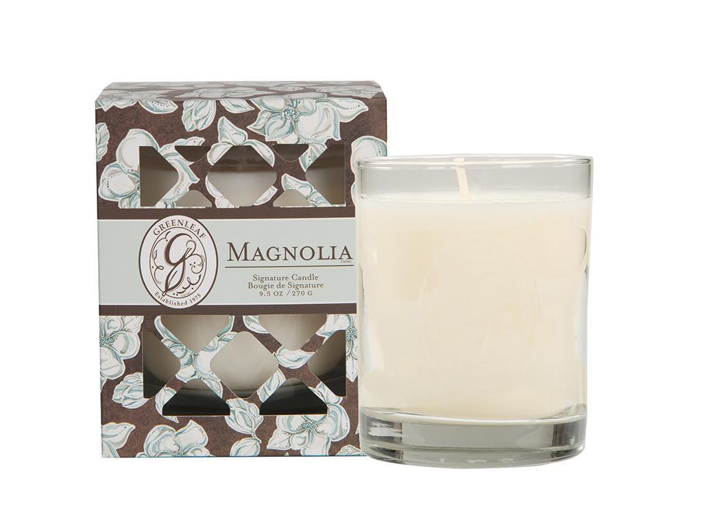 EAGLE RIDGE GREENLEAF MAGNOLIA SIGNATURE CANDLE