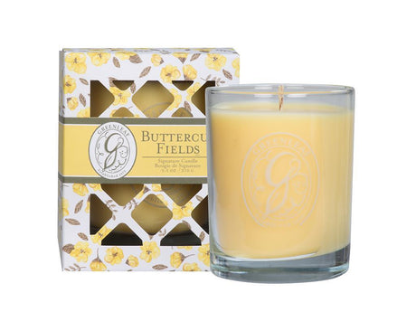 EAGLE RIDGE GREENLEAF BUTTERCUP FIELDS SIGNATURE CANDLE