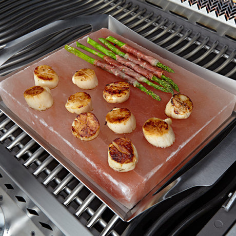 NAPOLEON HIMALAYAN SALT PLATTER WITH GRILL TOPPER