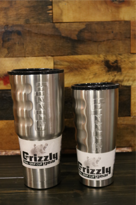 GRIZZLY GRIP CUP STAINLESS