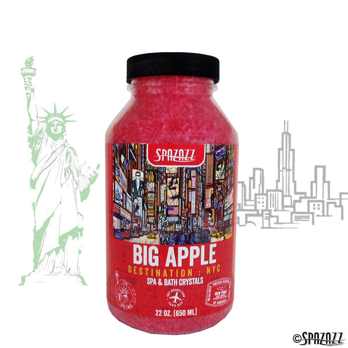 Spazazz Destinations Crystals NYC: Big Apple 22 Ounces