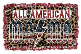 All American MAMA Sublimation Transfer