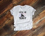 Back Up Terry Sublimation Transfer